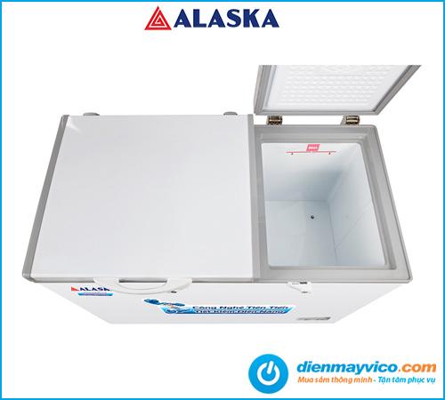 Tủ đông mát nắp dỡ Alaska BCD-6567N 471 lít