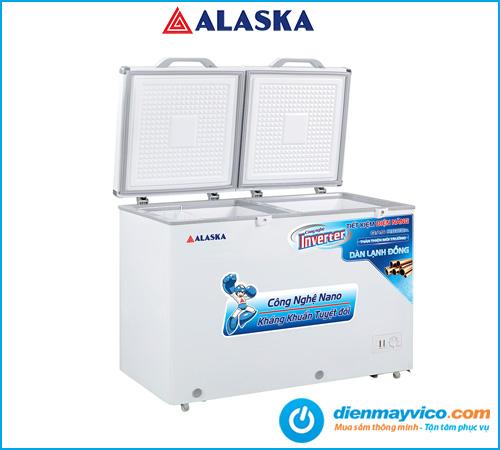 Tủ đông mát Alaska Inverter BCD-5068CI 312 Lít