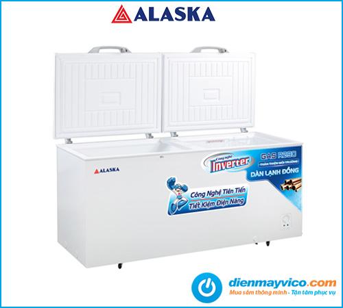 Tủ đông nắp dỡ Alaska Inverter HB-550CI 408 lít