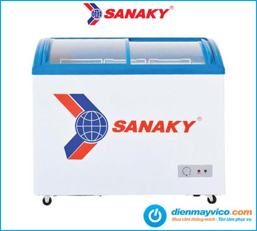 Tủ đông kính cong Sanaky VH-382K 260 Lít