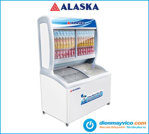 Tủ đông mát Alaska SFC-500 396L