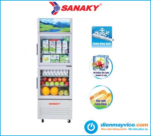 Tủ mát Sanaky VH-219WL 170 Lít