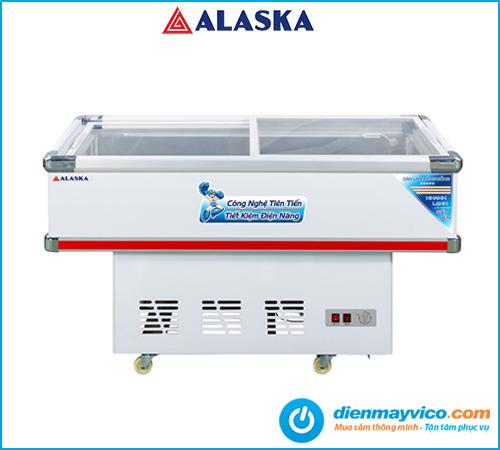 Tủ đông kính phẳng Alaska SC-4SD 220 lít | Bảo hành đến 24 tháng.