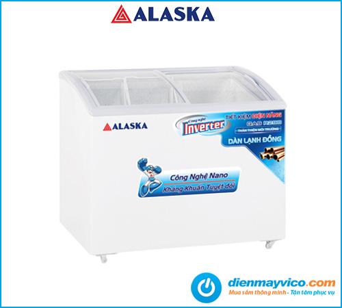 Tủ đông kem Alaska Inverter KC-210CI 210 lít | Bảo hành 24 tháng.
