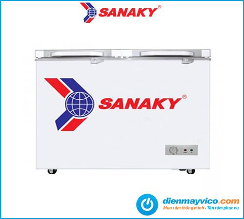 Tủ đông kính cường lực Sanaky VH-2899A2K 240 lít