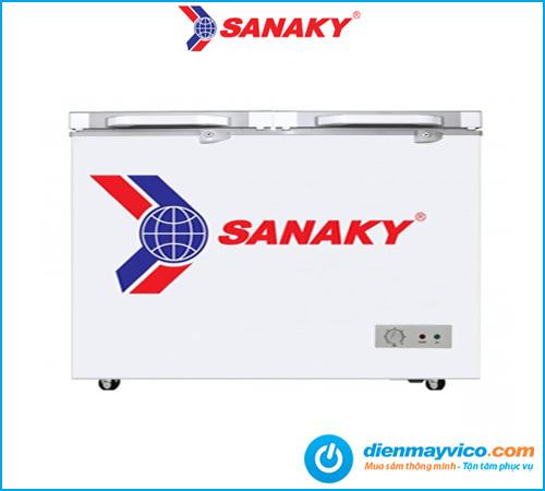 Tủ đông kính cường lực Sanaky VH-3699A2K 260 lít