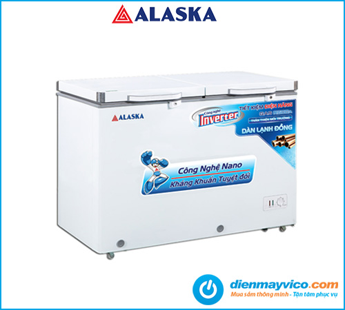 Tủ đông mát Alaska Inverter BCD-5068CI 312 Lít | Bảo hành 24 tháng