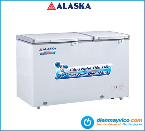 Tủ đông mát nắp dỡ Alaska BCD-6567N 471 lít | Bảo hành 24 tháng.