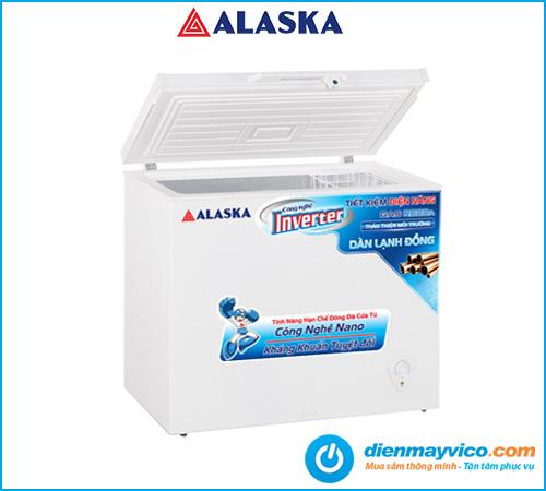 Tủ đông nắp dỡ Alaska Inverter BD-400CI 295 lít   Bảo hành 2 năm.