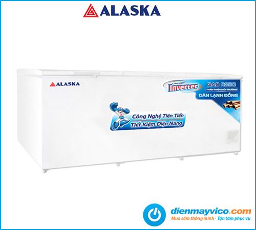 Tủ đông nắp dỡ Alaska Inverter HB-1100CI 742 lít   Bảo hành 2 năm