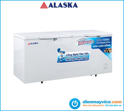 Tủ đông nắp dỡ Alaska Inverter HB-550CI 408 lít   Bảo hành 2 năm.