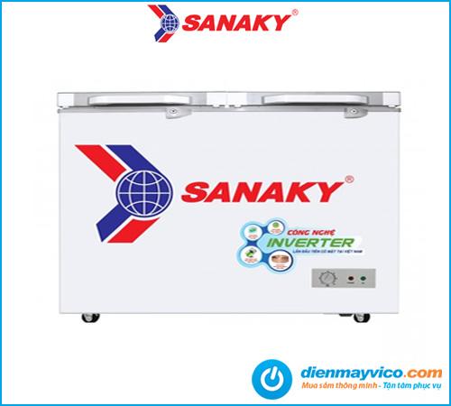 Tủ đông kính cường lực Sanaky Inverter VH-4099A4K 305 lít | Giá rẻ