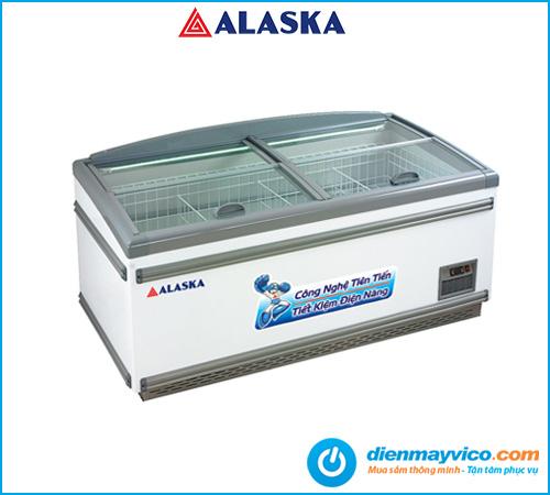 Tủ đông trưng bày mặt kính Alaka KN-450 450 lít | Bảo hành 2 năm.