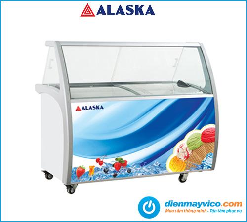 Tủ trưng bày kem Alaska ISG-12 | Bảo hành chính hãng đến 24 tháng