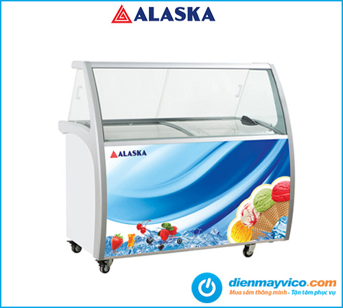 Tủ trưng bày kem Alaska ISG-9 | Bảo hành chính hãng 24 tháng.
