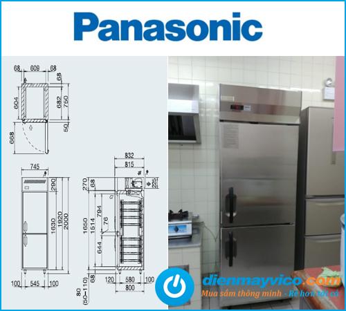 Tủ đông 2 cánh Panasonic SRF-681FC(E) 471 Lít