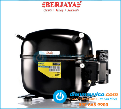 Tủ bánh kem kính vuông Berjaya RCS09SB13-2FB 0.9m
