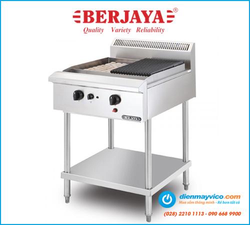 Bếp nướng than đá nhân tạo Berjaya CRB2BFS-17 (dùng gas)