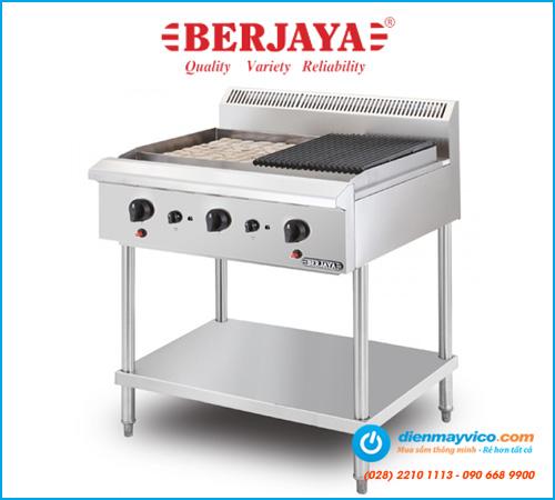Bếp nướng than đá nhân tạo Berjaya CRB3BFS-17 (dùng gas)