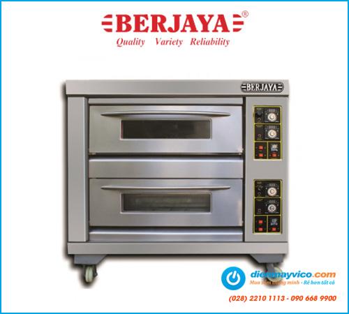 Lò nướng 2 tầng 4 khay Berjaya BJY-G120-2BD (dùng gas)
