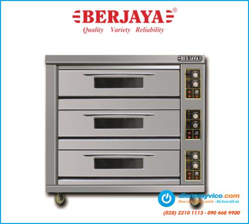Lò nướng 3 tầng 9 khay Berjaya BJY-G270-3 (dùng gas)