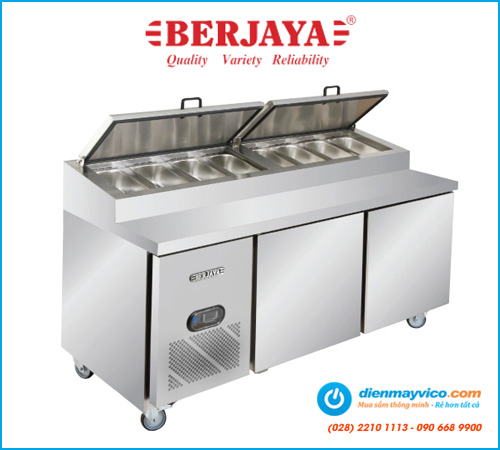 Bàn mát pizza Berjaya BS2D/PCF6/Z 1m8