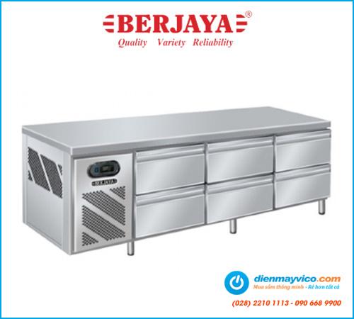 Bàn mát 6 ngăn kéo Berjaya BS6DR/C2535/2