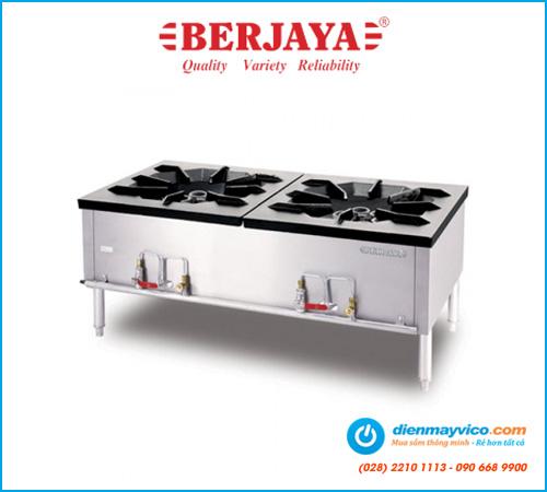 Bếp Á hầm thấp 2 họng Berjaya SP2-HT