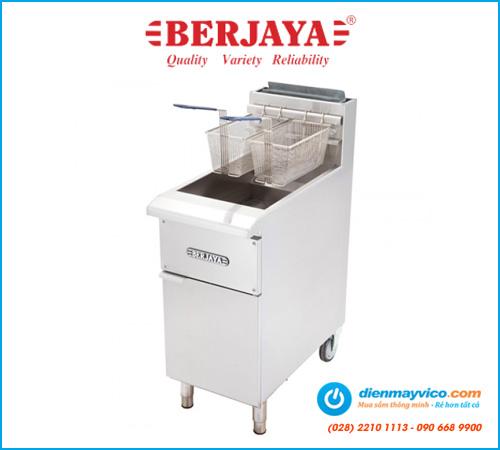 Bếp chiên nhúng Berjaya GDFE2BFS-17 (dùng gas)