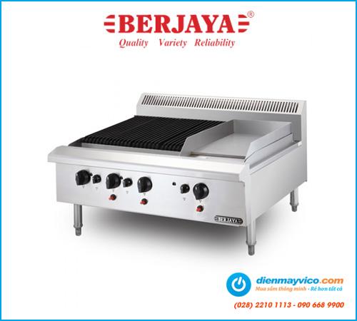 Bếp nướng có bếp chiên phẳng Berjaya CB3BGG1B-17 (dùng gas)