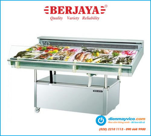 Tủ mát trưng bày hải sản Berjaya FDC6 (1m8)