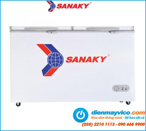 Tủ đông/mát Sanaky VH-405W2 280 Lít