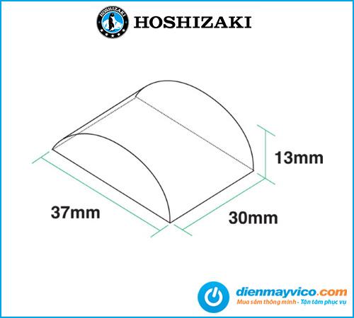 Máy làm đá hình bán nguyệt Hoshizaki KMD-270AWB 230-280 kg/ngày