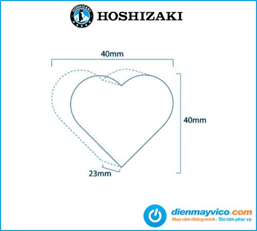 Máy làm đá hình trái tim Hoshizaki IM-65NE-H 25-28 kg/ngày