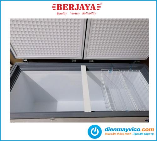 Tủ đông nắp đậy Berjaya BJY-CFSD500A 383 lít