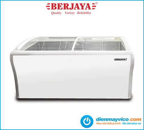 Tủ đông kính cong Berjaya BJY-CFGD400 300 lít