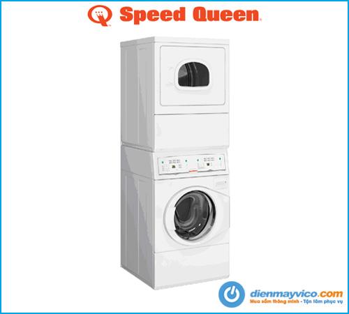 Máy giặt sấy xếp chồng Speed Queen LTEE5ASP303ZW01