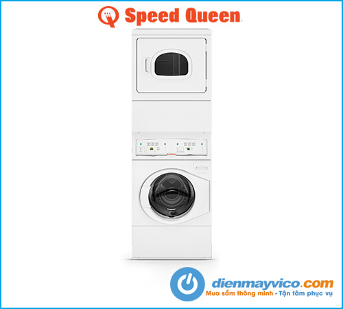 Máy giặt sấy xếp chồng Speed Queen LTLE5ASP303NW35