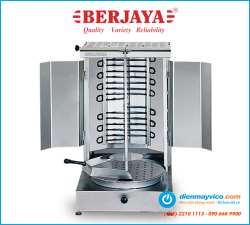 Lò nướng thịt kebab Berjaya KM2H (dùng điện)