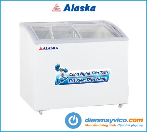 Tủ đông kính cong Alaska SC-501Y (368L)
