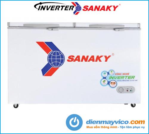 Tủ đông/mát Sanaky VH-6699W3 Inverter 485 lít