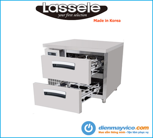 Bàn mát 2 ngăn kéo Lassele LNRT-1B-90-V (0.9m)