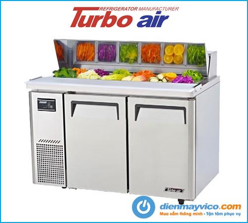 Bàn mát salad 2 cánh Turbo Air KHR12-2 (1m2)