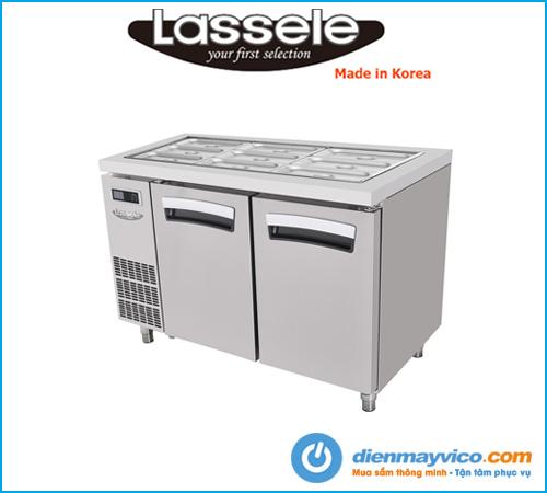 Bàn mát salad Lassele LSRT-2B-1200 (1m2)