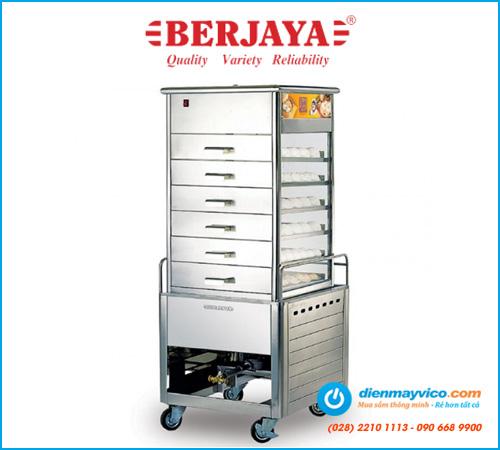 Tủ hấp bánh bao Berjaya ESM66 (dùng gas)