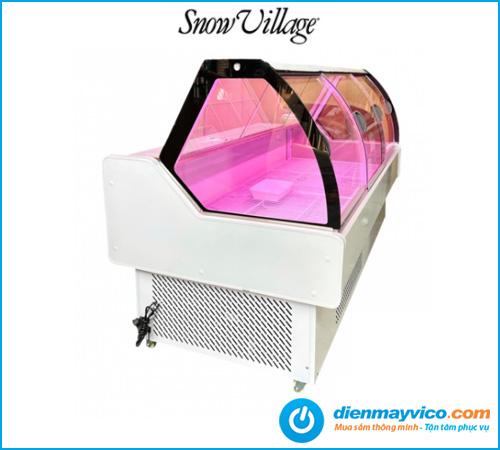 Tủ mát trưng bày thịt Snow Village Coil 1m6