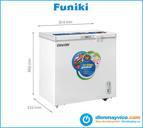 Tủ đông Funiki Hòa Phát HCF 336S1Đ1 162 lít