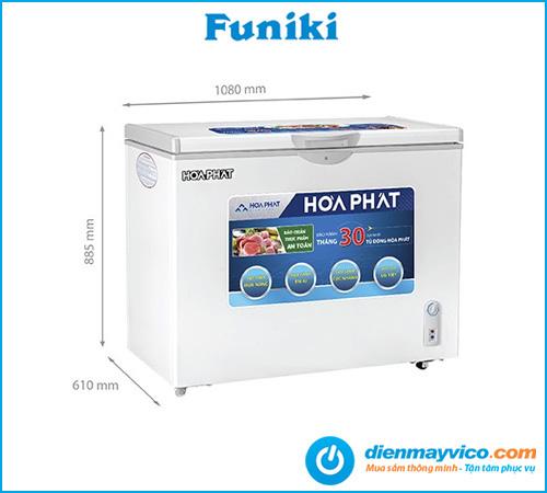 Tủ đông Funiki Hòa Phát HCFI 516S1Đ1 Inverter 252 lít