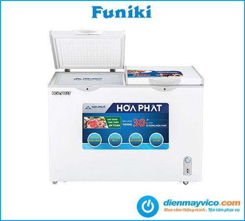 Tủ đông mát Funiki Hòa Phát HCFI 606S2Đ2 Inverter 245 lít