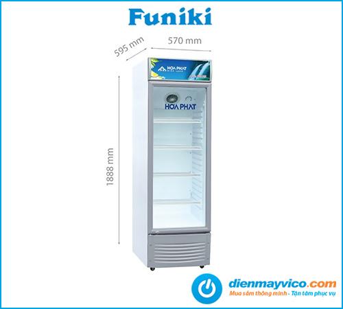 Tủ mát Funiki Hòa Phát HSC 600F1R1 242 lít